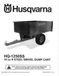 ipl, husqvarna, hq-1250ss, 584401902, 2013-06, 16cf steel dump ...