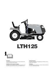 OM, LTH125, HELTH125C, 2002-01, SE, DK, NO, FI - Husqvarna