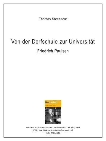 Von der Dorfschule zur Universität - Husum-Stadtgeschichte