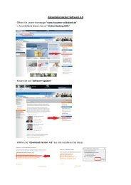3. NEU Aktualisierung der Software 4.0 - Husumer Volksbank eG