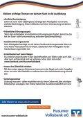 Checkliste zum Ausbildungsbeginn - Husumer Volksbank eG - Page 2