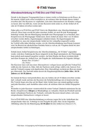 ITAS Vision - HUTH ELEKTRONIK SYSTEME GmbH