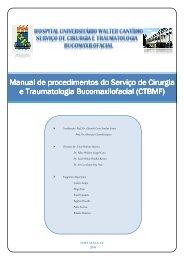 cirurgia e traumatologia bucomaxilofacial (ctbmf) - Hospital ...