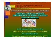 Aula Farmácia Clínica - Hospital Universitário Walter Cantídio ...