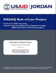 Jurisprudence of Equality Program - PART - USAID