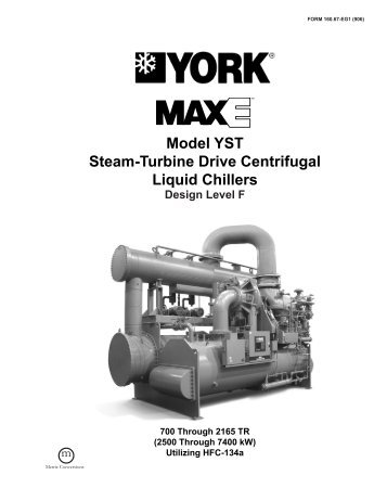 york maxe centrifugal chiller manual