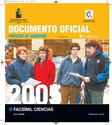 FACSÍMIL CIENCIAS - Sala de Historia