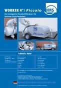 Brochure WORKER N° 1 Piccolo - BMS Bau-Maschinen-Service ... - Page 2