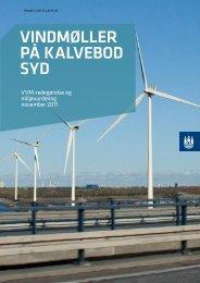 vindmøller på kalvebod syd - Hvidovre Kommune