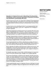 Teknisk Forvaltnings notat af 6. september 2012 om - Hvidovre ...