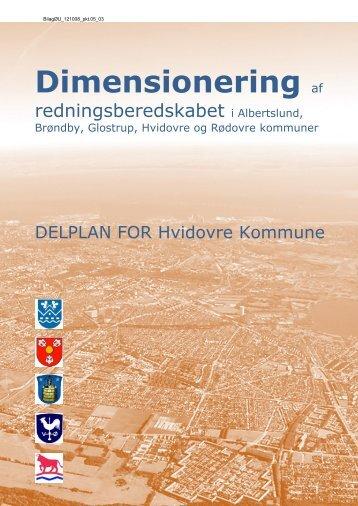 Dimensionering af redningsberedskabet i Albertslund, Brøndby ...