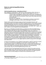 Notat om undervisningsdifferentiering - Hvidovre Kommune