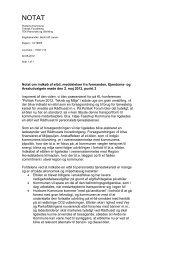 Notat om indkøb af elbil, meddelelser fra formanden, Ejendoms- og ...