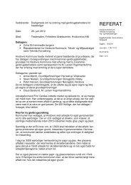 Referat af borgermødet den 20. juni 2012 - Hvidovre Kommune