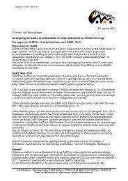 Ansøgning til KFU vedr. GAM3 2012.docx - Hvidovre Kommune