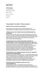 Trængselsafgift i Hovedstaden - Hvidovre Kommune