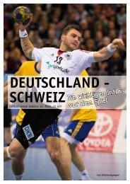 deutschland - schw eiz - Handballverband Rheinland