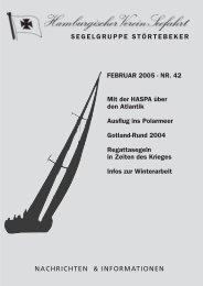 News - Hamburgischer Verein Seefahrt