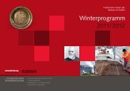 Winterprogramm - Historischer Verein des Kantons St.Gallen