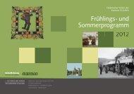 Frühlings - Historischer Verein des Kantons St.Gallen