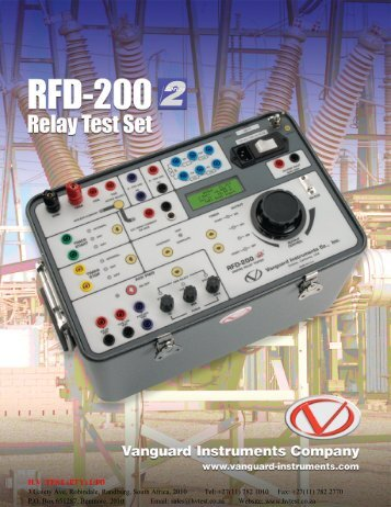 Vanguard RFD200 S2 - HVTEST South Africa