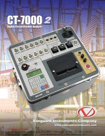 Vanguard CT 7000 - HVTEST South Africa