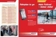 Flyer ADFC-HVV-Faltrad