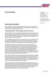 Pressemitteilung - HVV