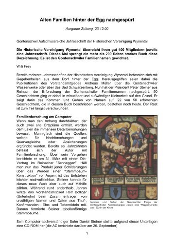 download PDF (105KB) - Historische Vereinigung Wynental