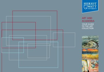 Your Guide to the Art Collection - Heriot-Watt University