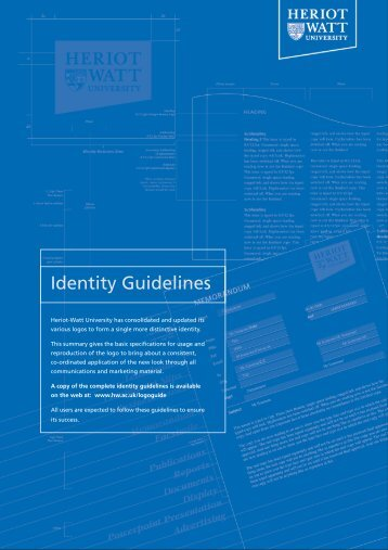 Identity Guidelines - Heriot-Watt University