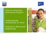 our brochure - Heriot-Watt University