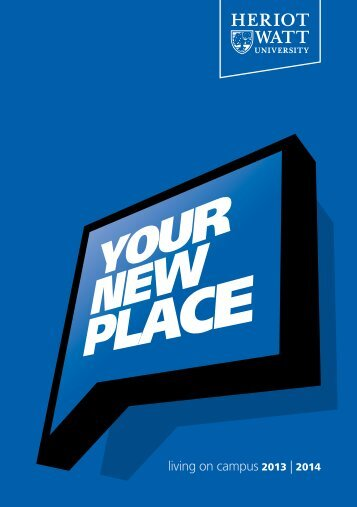 Your new place: Living on campus (Edinburgh) - Heriot-Watt University