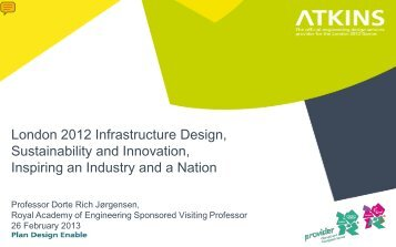 The London 2012 Infrastructure Design, Sustainability & Innovations