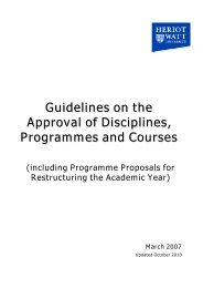 Guidelines on the Approval of Disciplines, Programmes and Courses