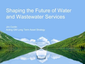 Shaping the Future of Water & Waste Services