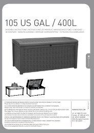 105 US GAL / 400L - HWG-Tec