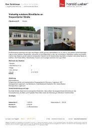 Vielseitig nutzbare Büro / Praxisfläche an frequentierter Straße