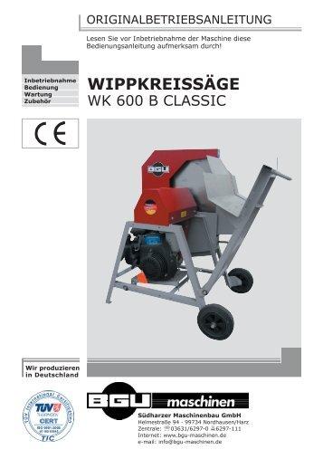 Bedienungsanleitung - HWG-Tec