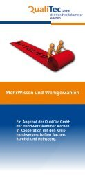 MehrWissen und WenigerZahlen - Handwerkskammer Aachen