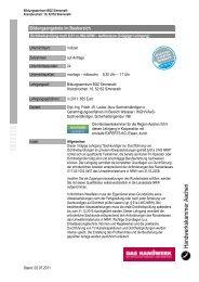 Dichtheitsprüfung nach § 61 a LWG NRW - Handwerkskammer ...