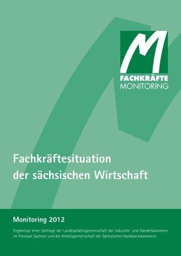 Fachkräftemonitoring 2012 - Industrie- und Handelskammer zu Leipzig