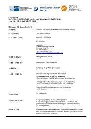 Kontakt- und Kooperationsbörsen in KROATIEN und BOSNIEN (03