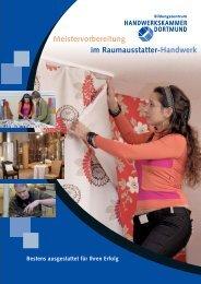 Meistervorbereitung im Raumausstatter-Handwerk