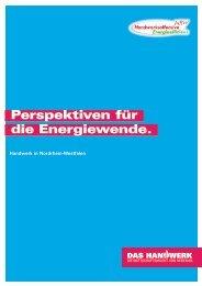 Perspektiven für die Energiewende. - Handwerkskammer Münster