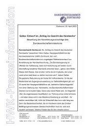 """Gallas: Entwurf ist """"Schlag ins Gesicht des Handwerks"""" Bewertung ..."""