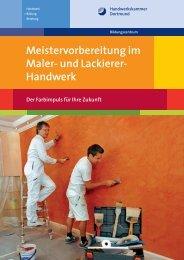 Meistervorbereitung im Maler- und Lackierer-Handwerk
