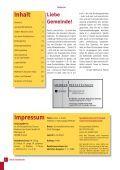 Neue Wege gehen – Zukunft gestalten - m-eine Gemeinde Greven - Page 2