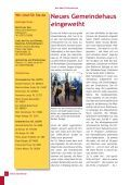 Neue Wege gehen – Zukunft gestalten - m-eine Gemeinde Greven - Page 6