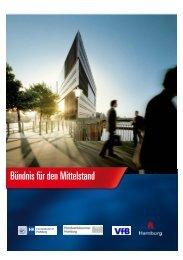 Bündnis für den Mittelstand 2013 - Handwerkskammer Hamburg
